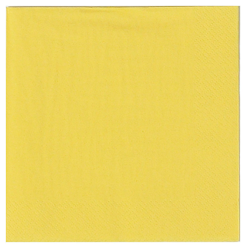 Light Yellow Lunch Napkins (50 count)