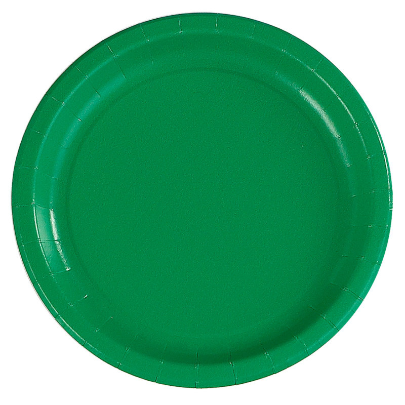 Green Dinner Plates (24 count)