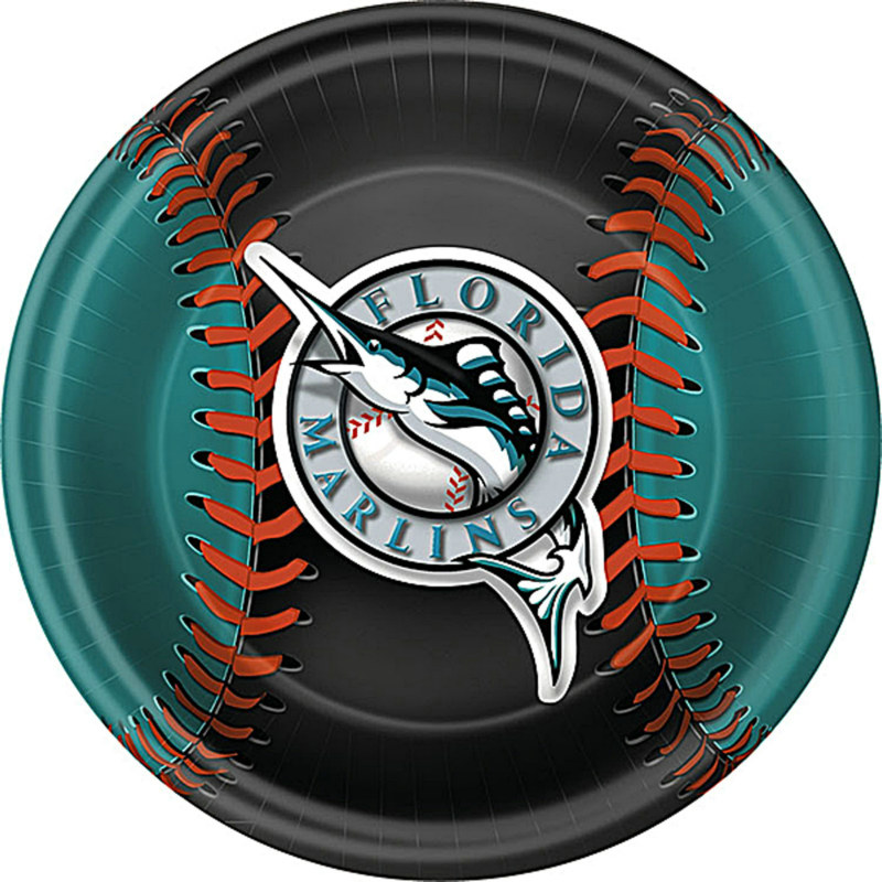 Florida Marlins Dinner Plates (18 count)