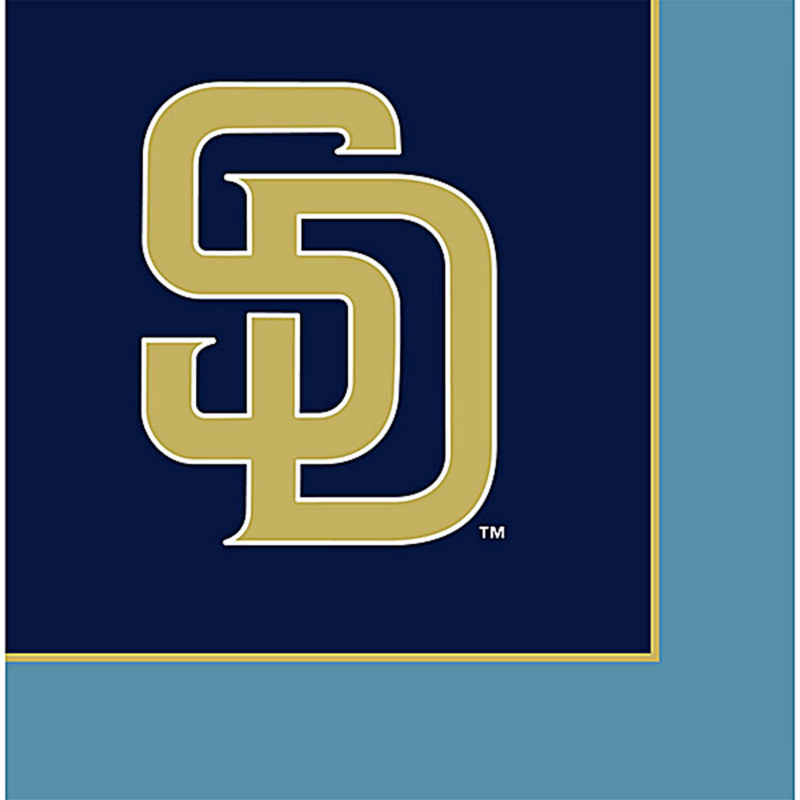 San Diego Padres Lunch Napkins (24 count)