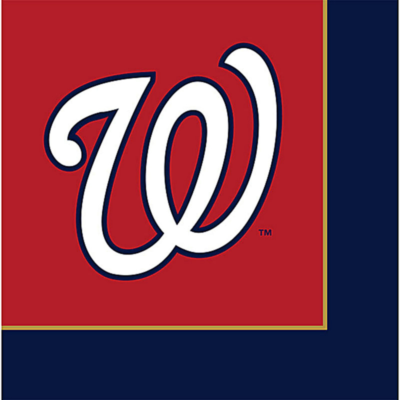 Washington Nationals Lunch Napkins (24 count)