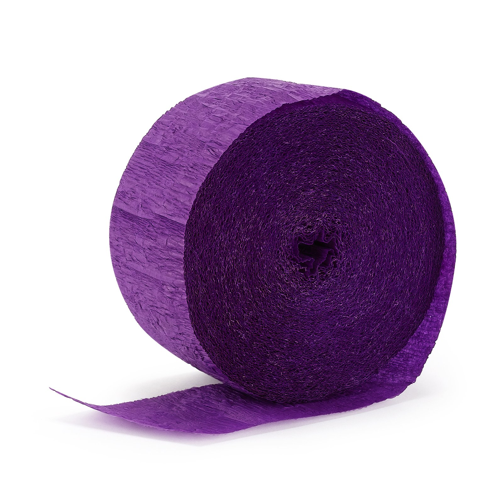 Perfect Purple (Purple) Crepe Streamers - 81'