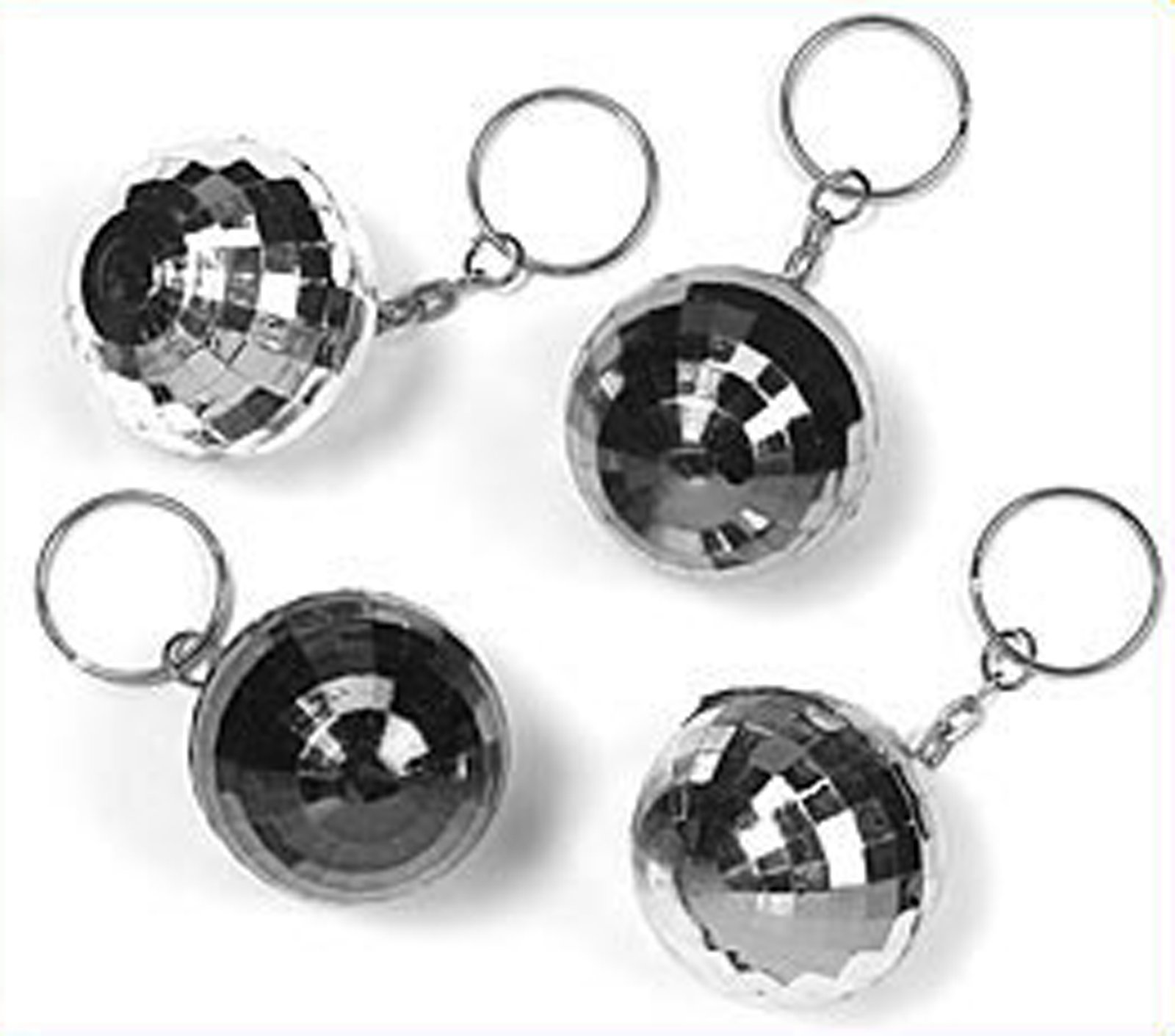 Disco Ball Keychains (8 count)