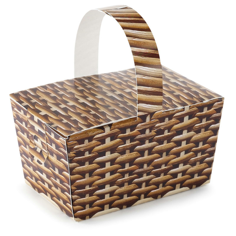Basket Empty Favor Boxes (4 count)