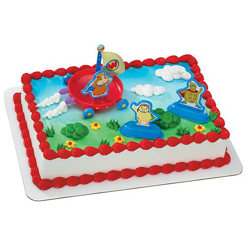 Wonder Pets Cake Toppers (4 count)
