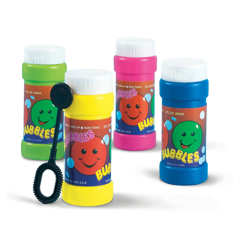 Smiley Bubbles Assorted (8 count)