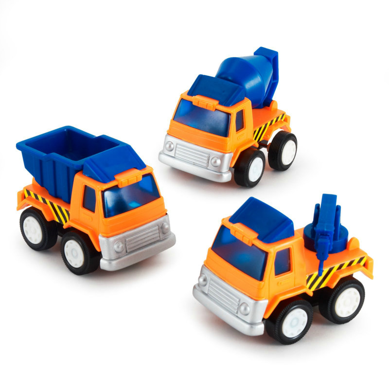 Construction Vehicles Assorted (8 count)