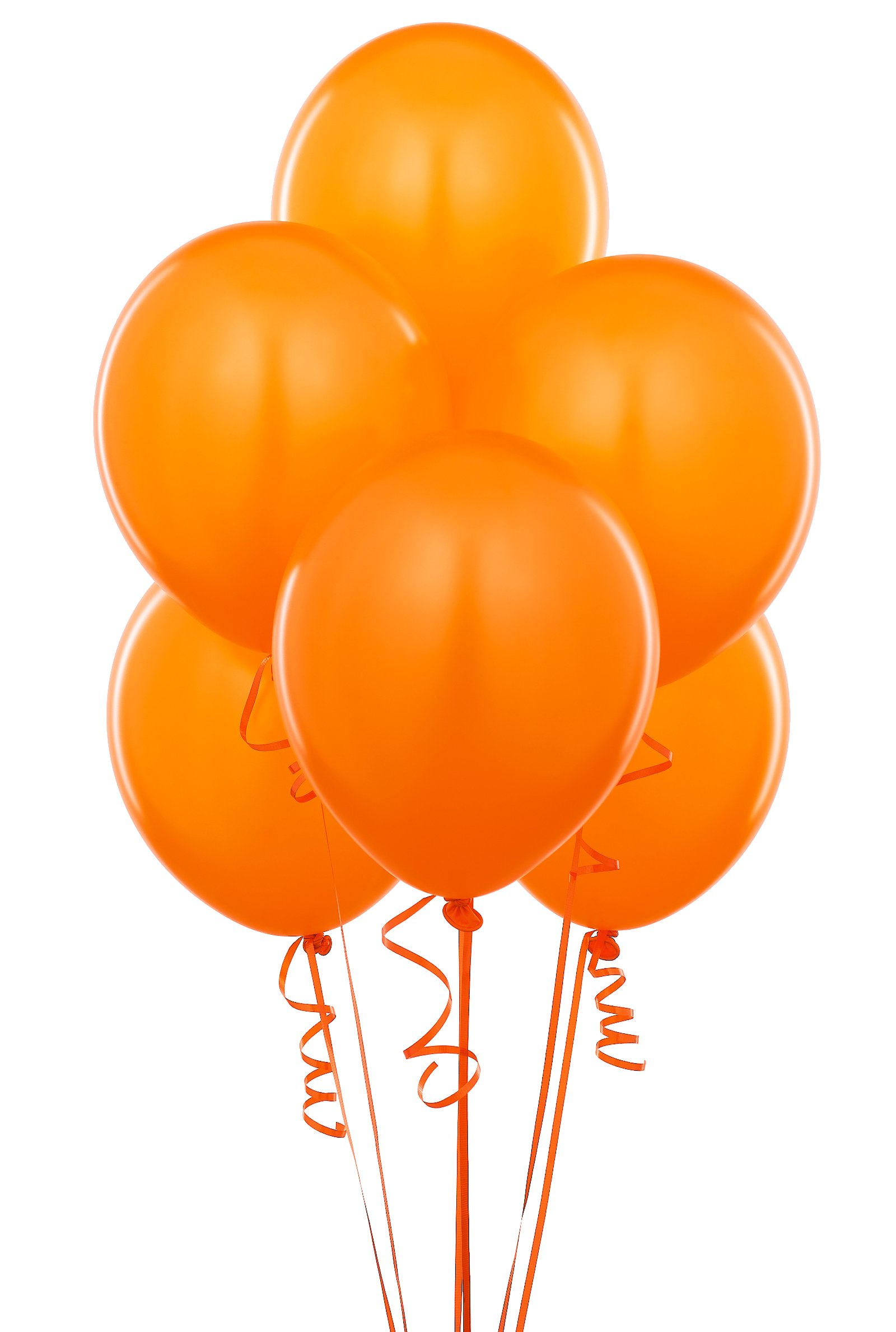 Sunkissed Orange (Orange) Balloons (6 count)