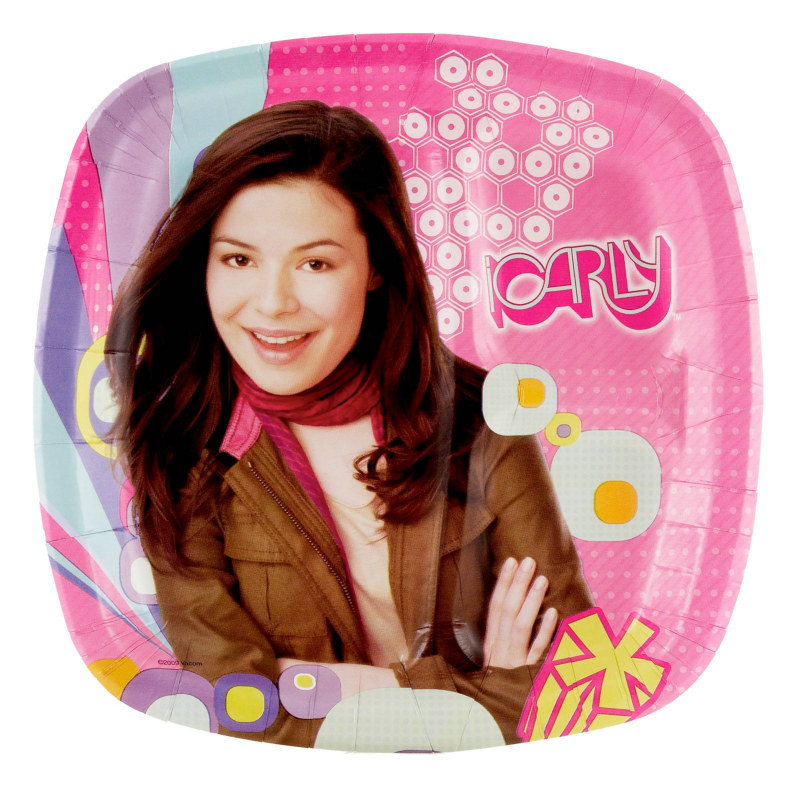 Icarly Pocket Dinner Plates 8 Count Costumes Life