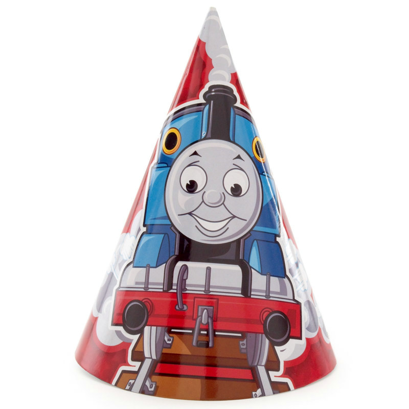 Thomas the Tank Engine Cone Hats (8 count)
