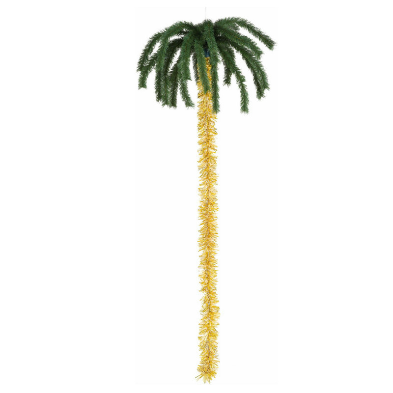 6' Natural Hanging Palm Tree