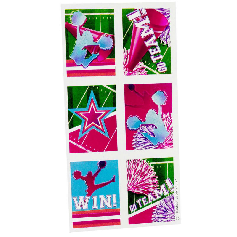 Something To Cheer About Sticker Sheets (4 count)