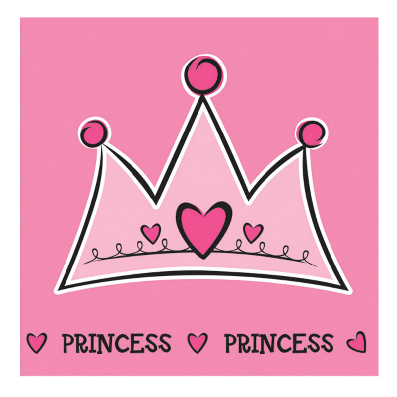 Birthday Princess Lunch Napkins (16 count)