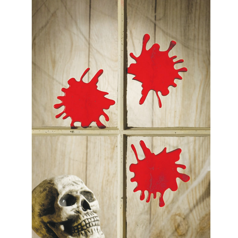 3D Blood Splats (3 count)