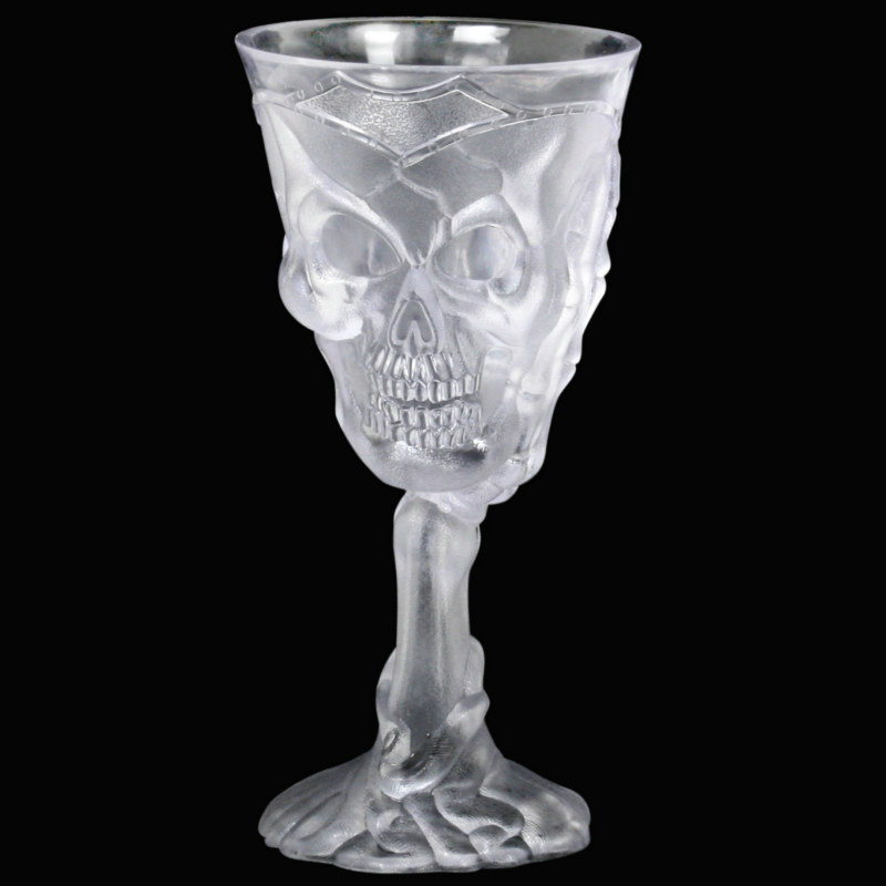 Halloween Clear Drinking Goblet