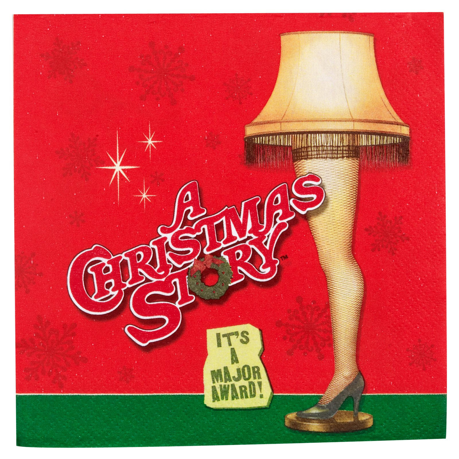 A Christmas Story Lunch Napkins (16 count)