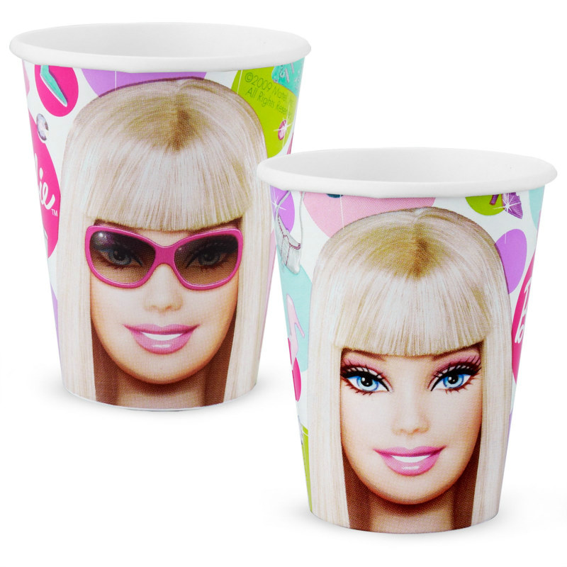 Barbie All Doll'd Up 9 oz. Paper Cups (8 count)