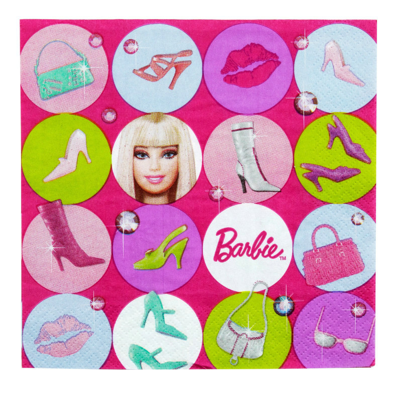 Barbie All Doll'd Up Lunch Napkins (16 count)