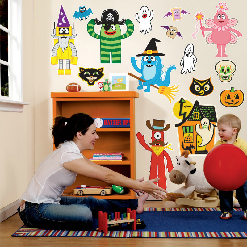 Yo Gabba Gabba! Halloween Giant Wall Decals