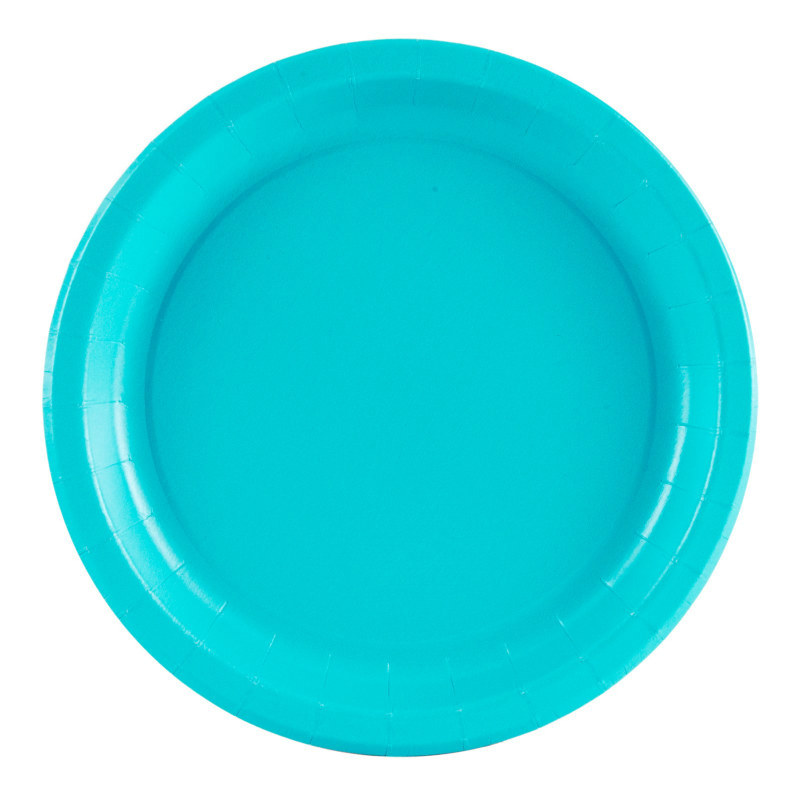 Turquoise Dinner Plates (24 count)