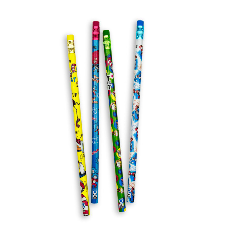 Dr. Seuss Cat In The Hat Pencils Asst. (8 count)