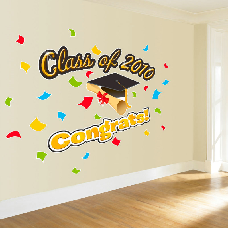 Graduation Giant Wall Decals