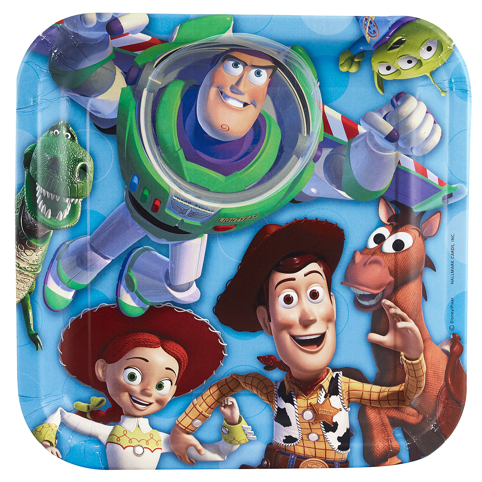 Toy Story 3 - 3D Dinner Plates (8 count)