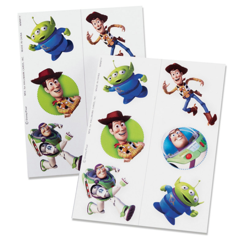 Toy Story 3 Tattoos (2 count)