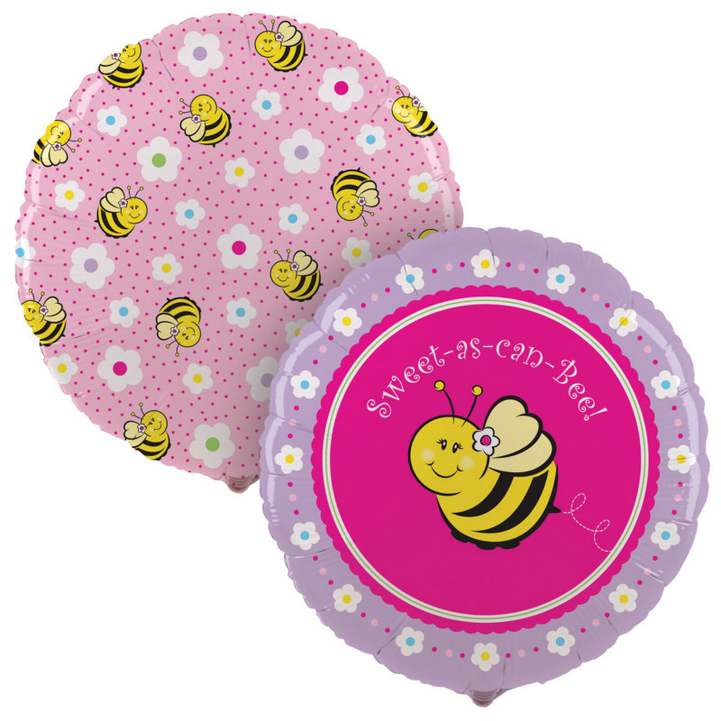"Sweet-As-Can-Bee 18"" Foil Balloon"