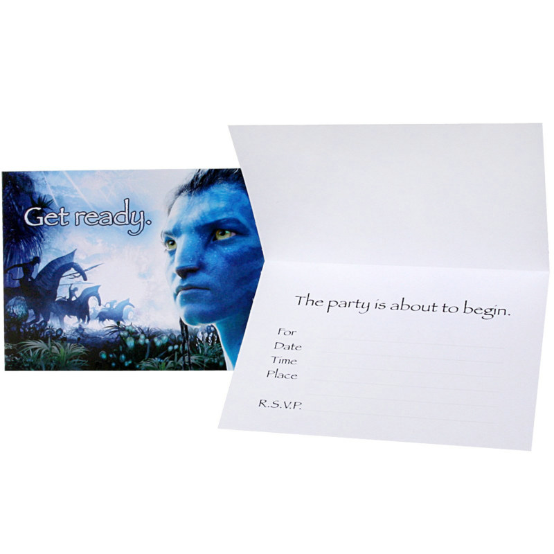Avatar Movie Invitations (8 count)