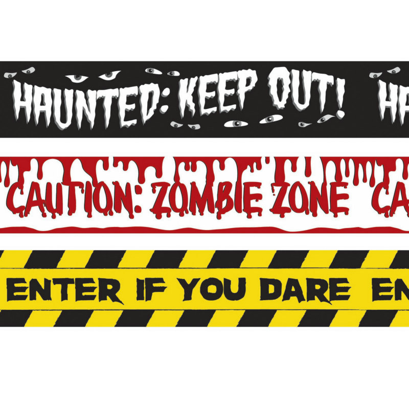 Halloween Fright Tape (3 count)