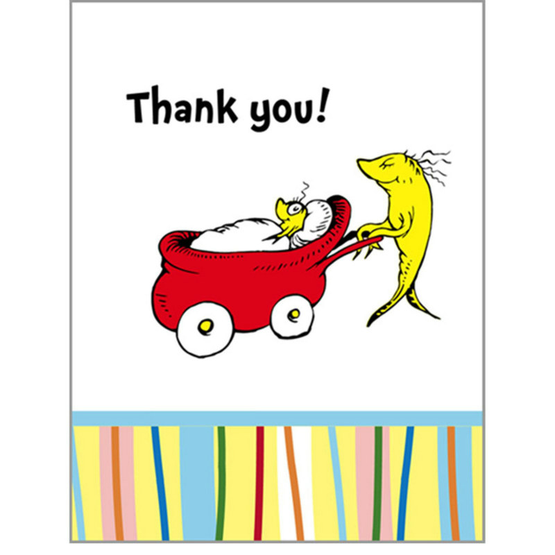 Baby Seuss Thank You Cards (8 count)