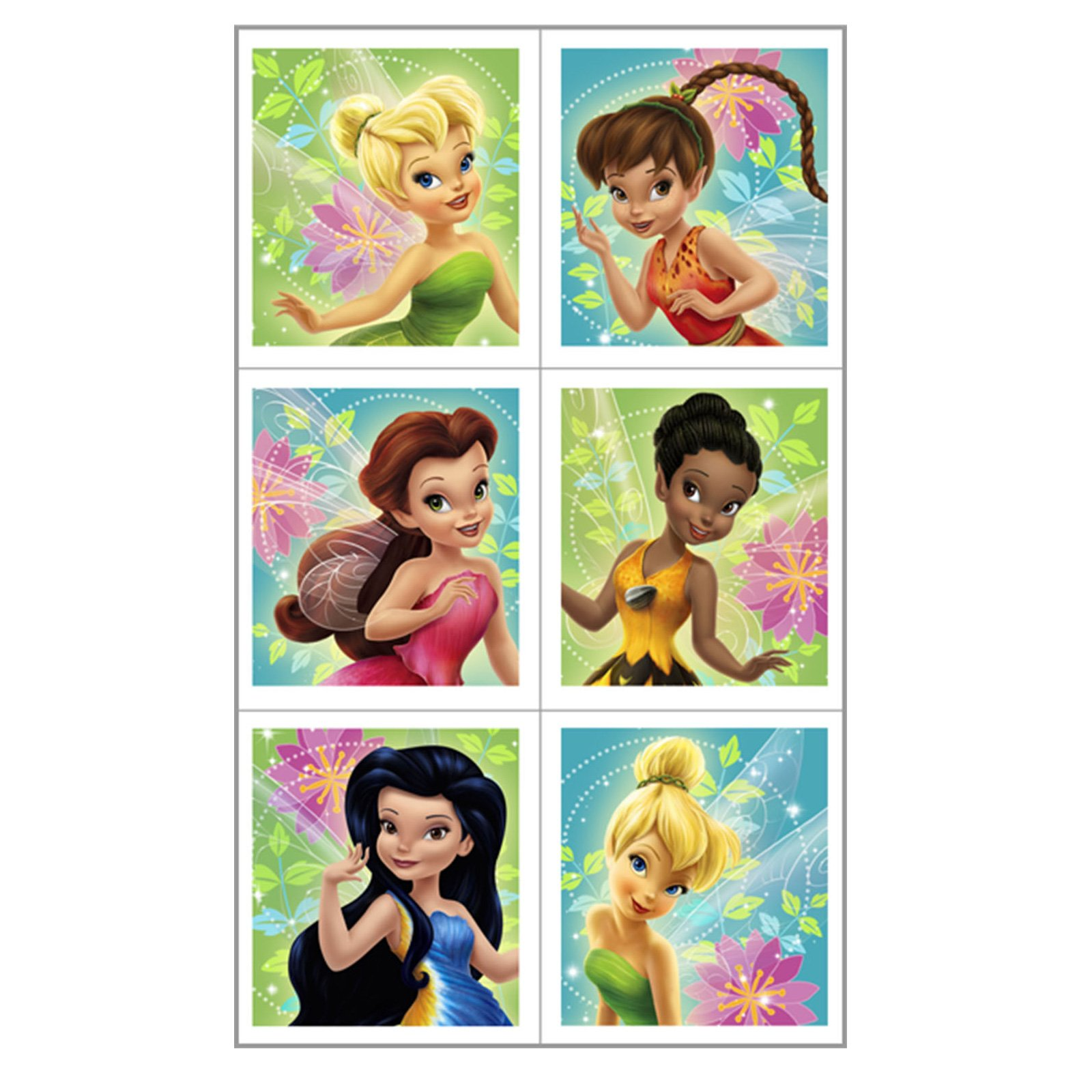 Disney's Fairies Sticker Sheets (4 count)