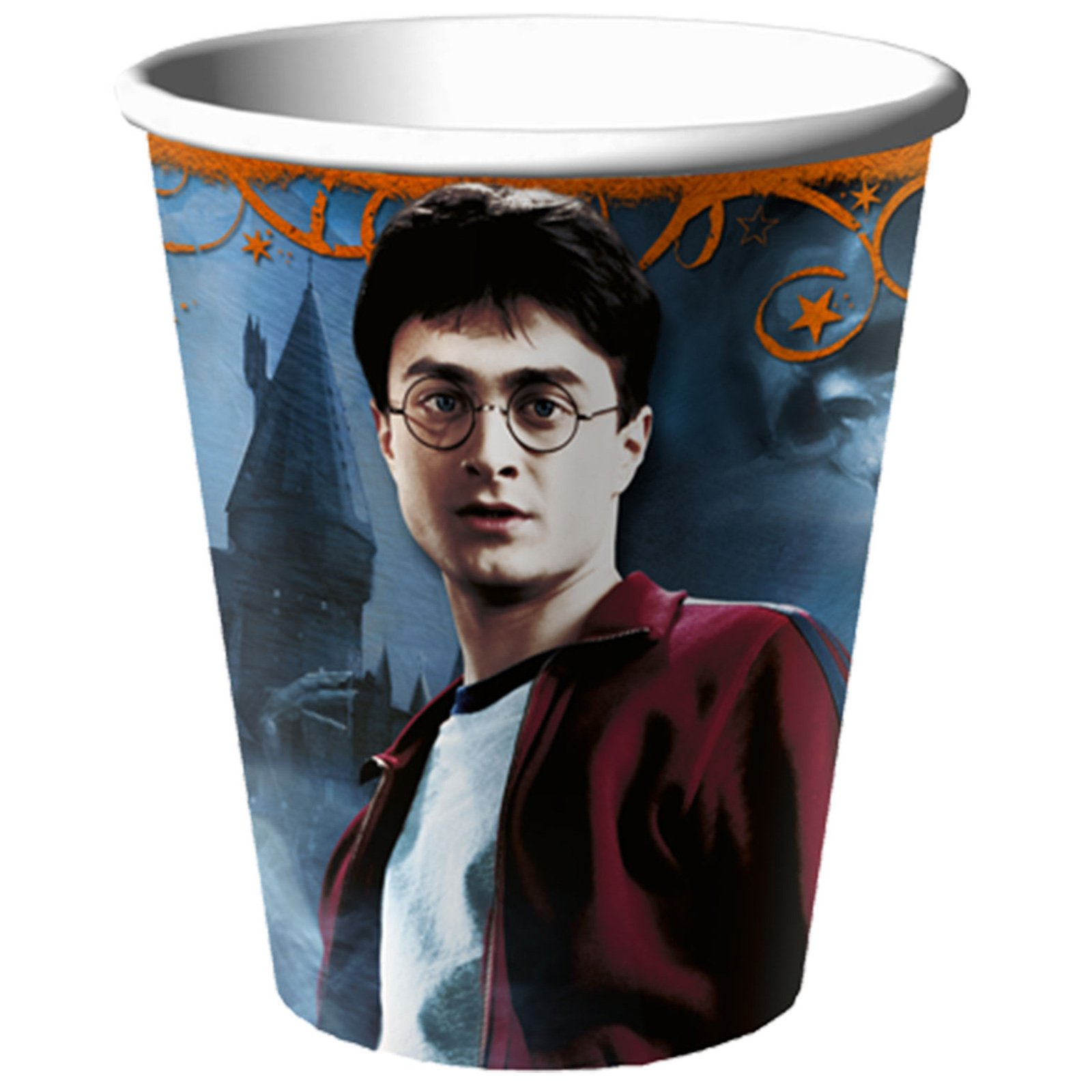 Harry Potter Deathly Hallows 9 oz. Paper Cups (8 count)