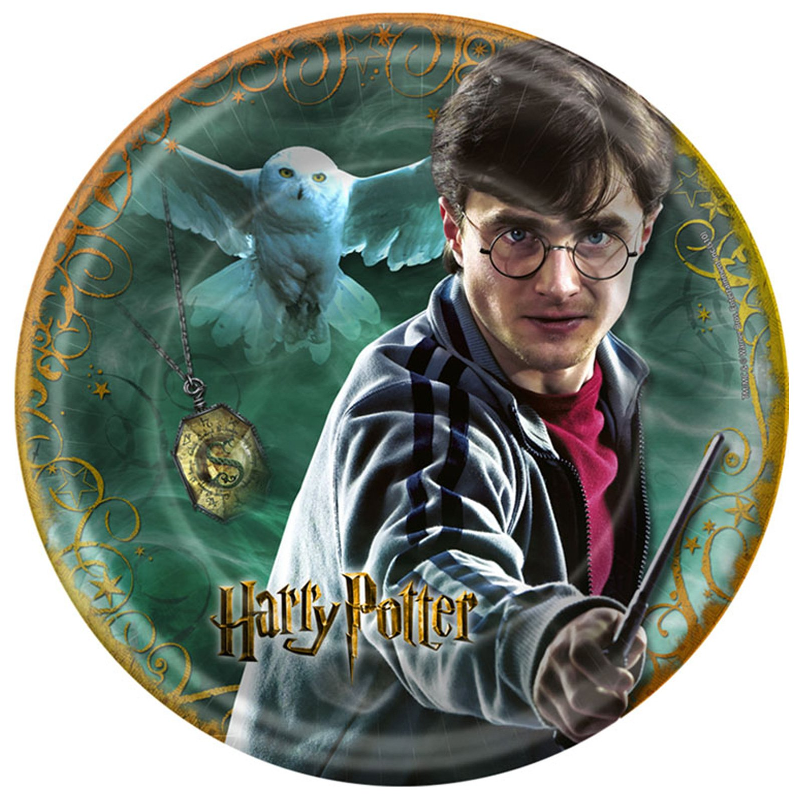 Harry Potter Deathly Hallows Dessert Plates (8 count)