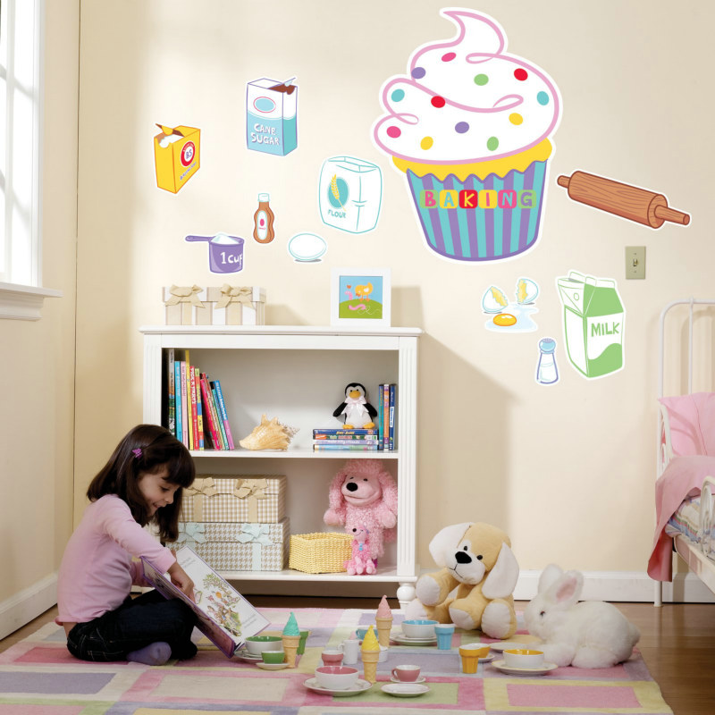 Baking Bash Giant Wall Decals