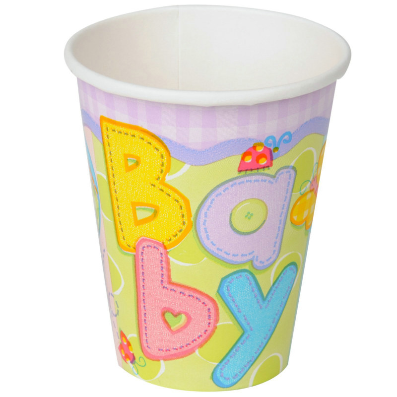 Hugs & Stitches Baby 9 oz. Cups (8 count)