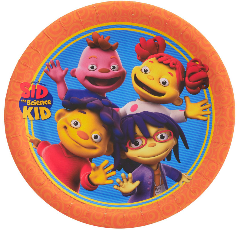 Sid the Science Kid Dinner Plates (8 count)