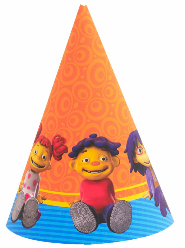 Sid the Science Kid Cone Hats (8 count)