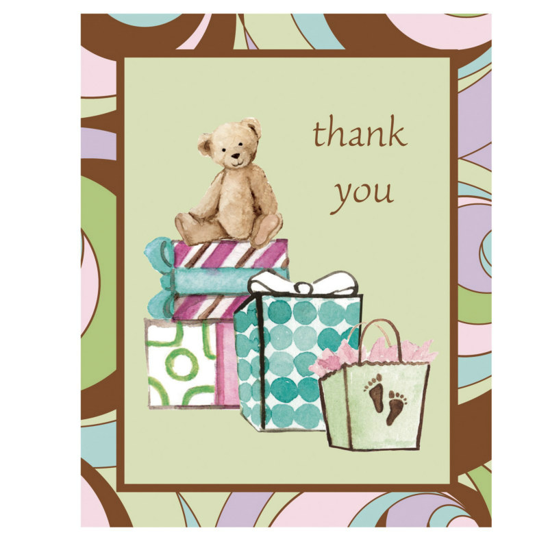 Parenthood Thank You Cards (8 count)