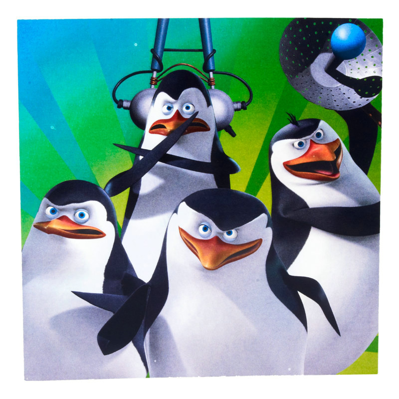 Penguins of Madagascar Lunch Napkins (16 count)