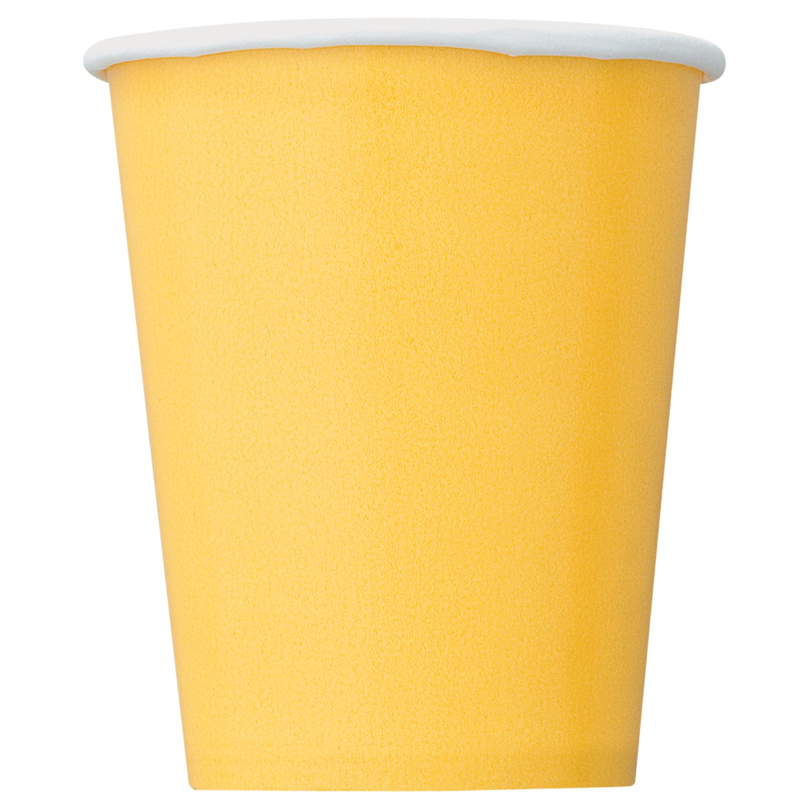 Sunflower Yellow 9 oz. Cups (8 count)