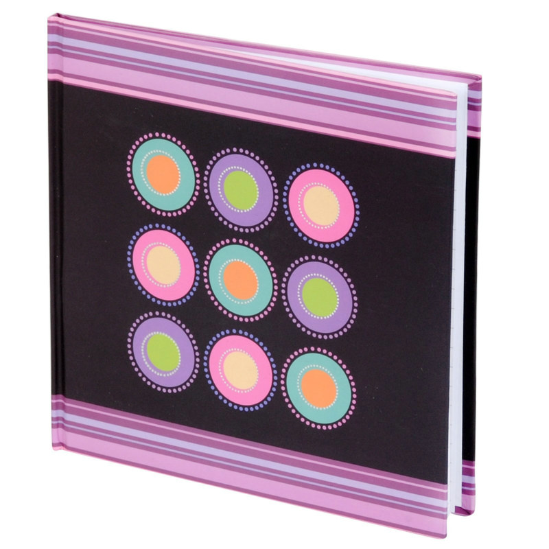 Multicolored Dots Notebook (1 count)