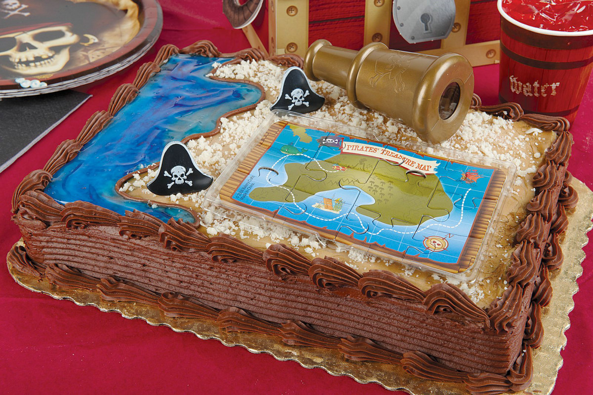 Pirate Adventure Cake Topper