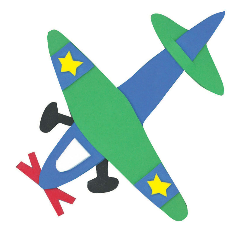 Foam Airplane Activity Kit