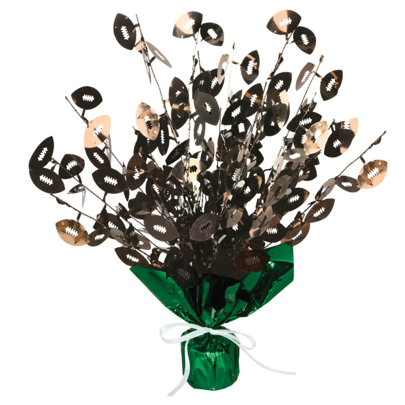 Football Gleam 'N Burst Centerpiece