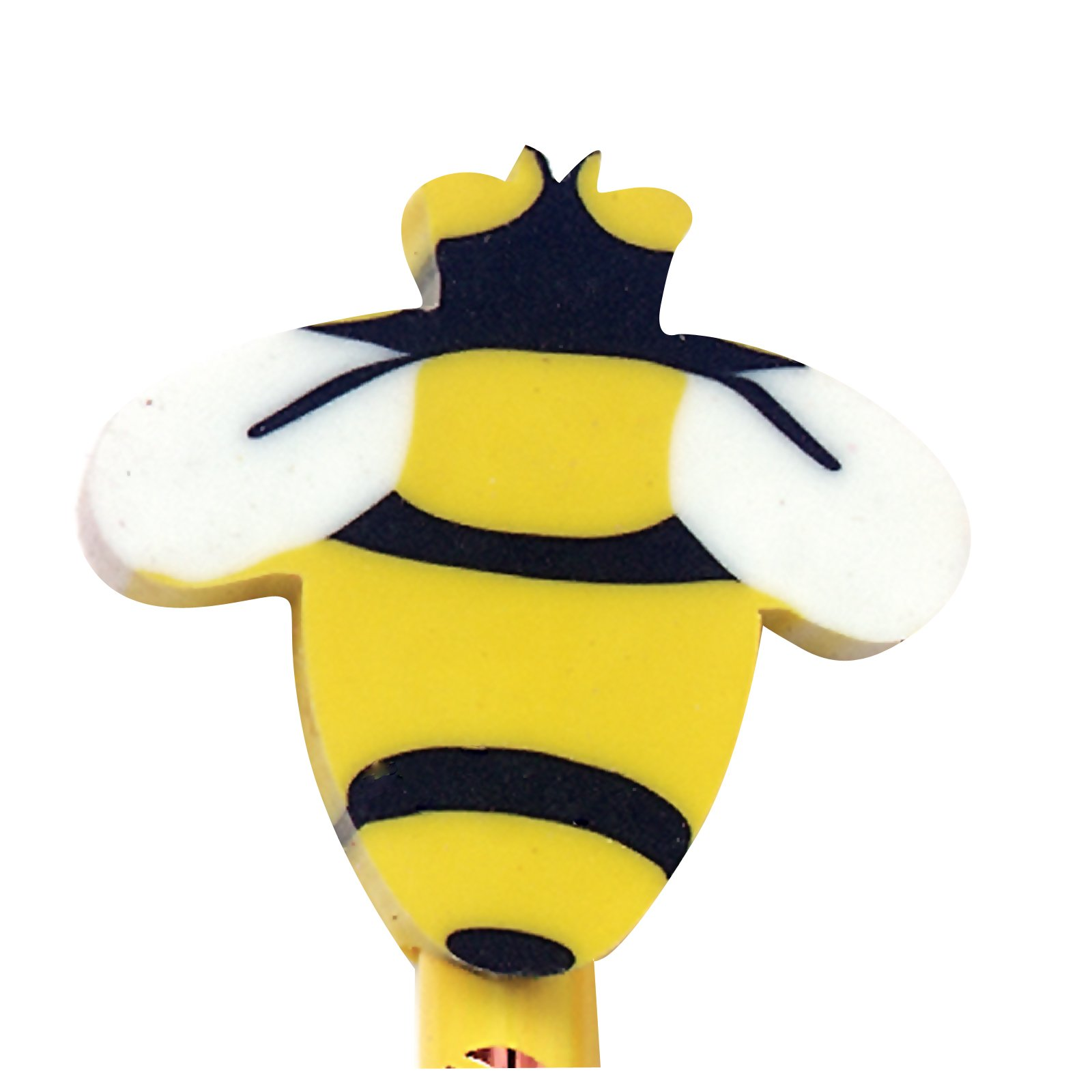 Bee Eraser Toppers (8 count)