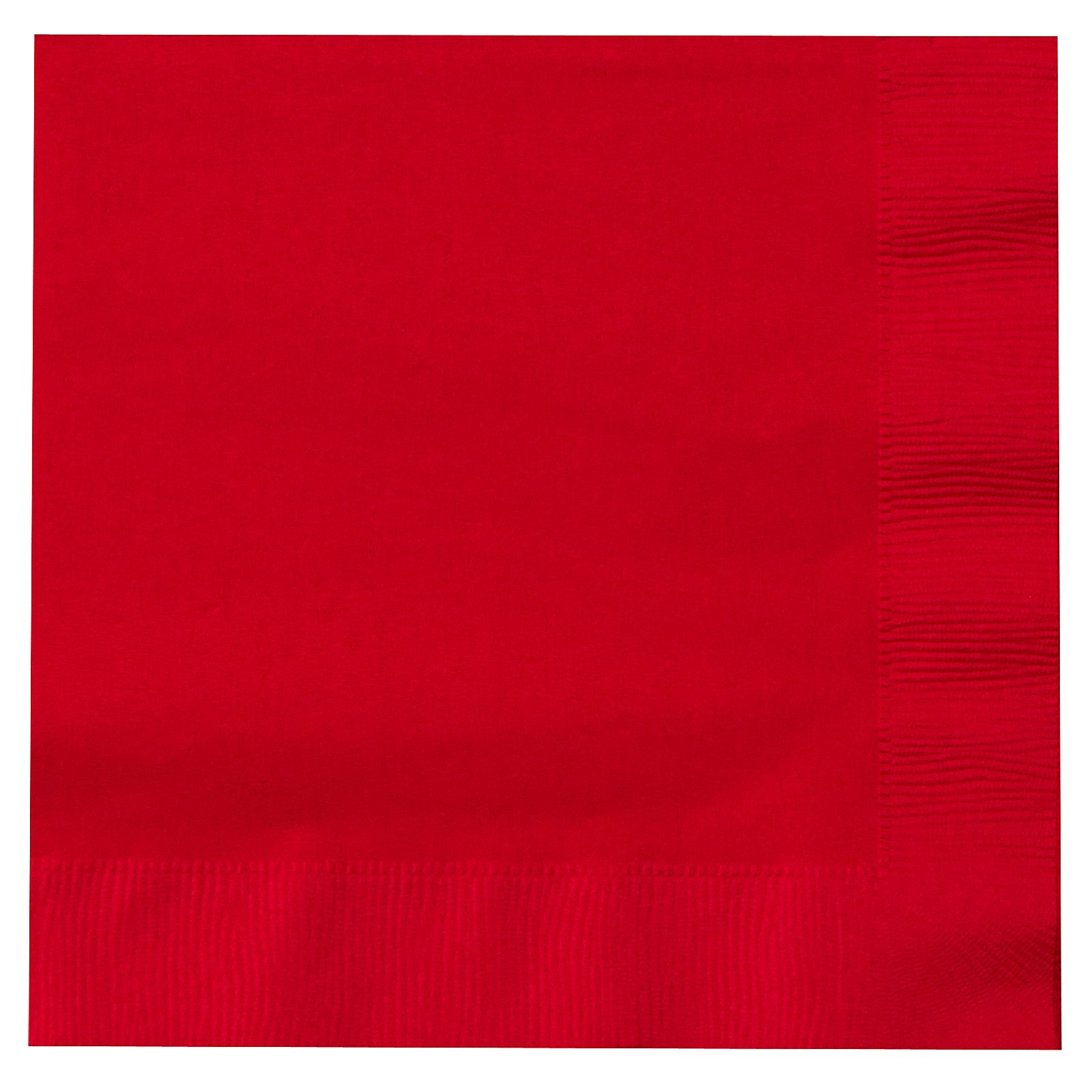 Classic Red (Red) Lunch Napkins (50 count)