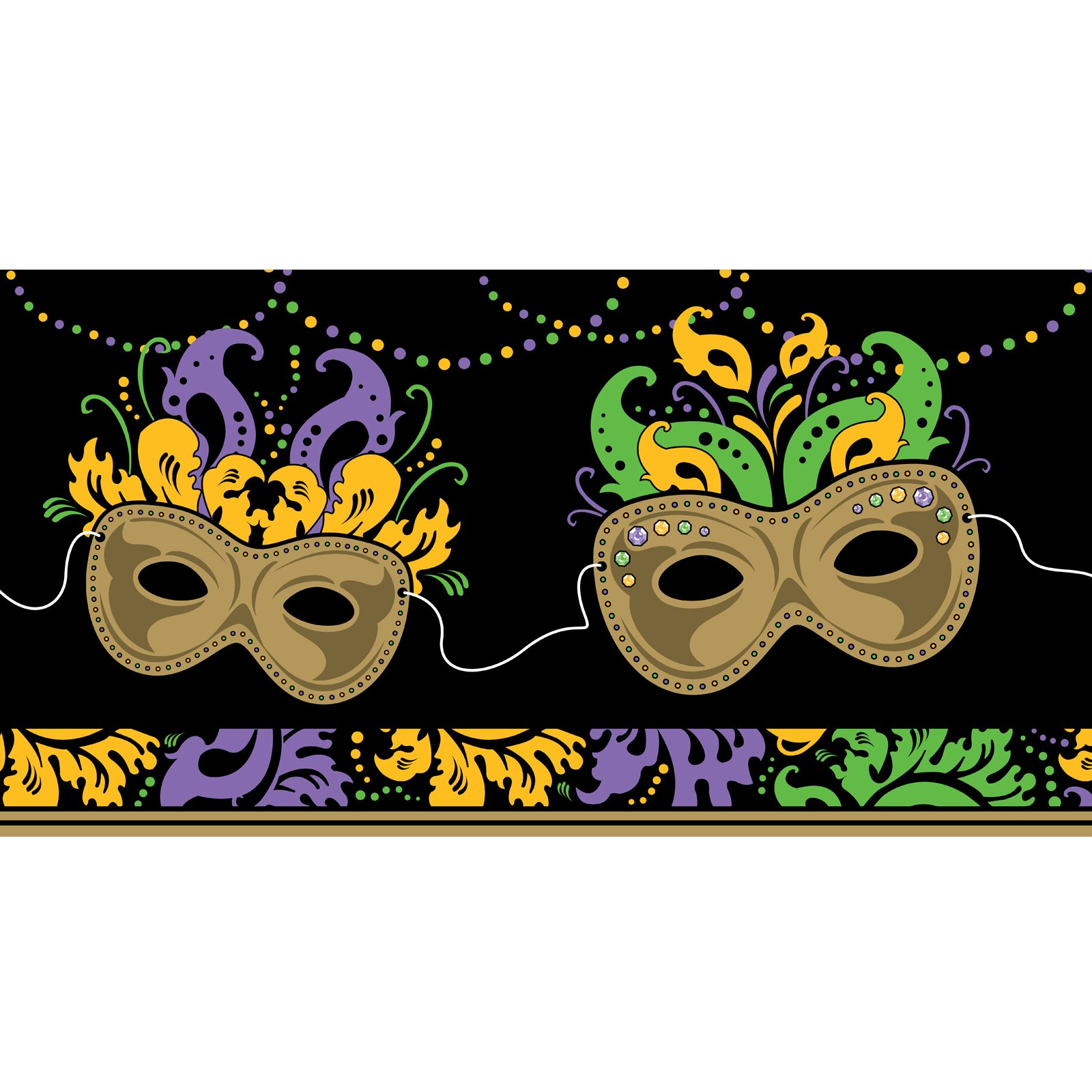 Mardi Gras Magic Tablecover