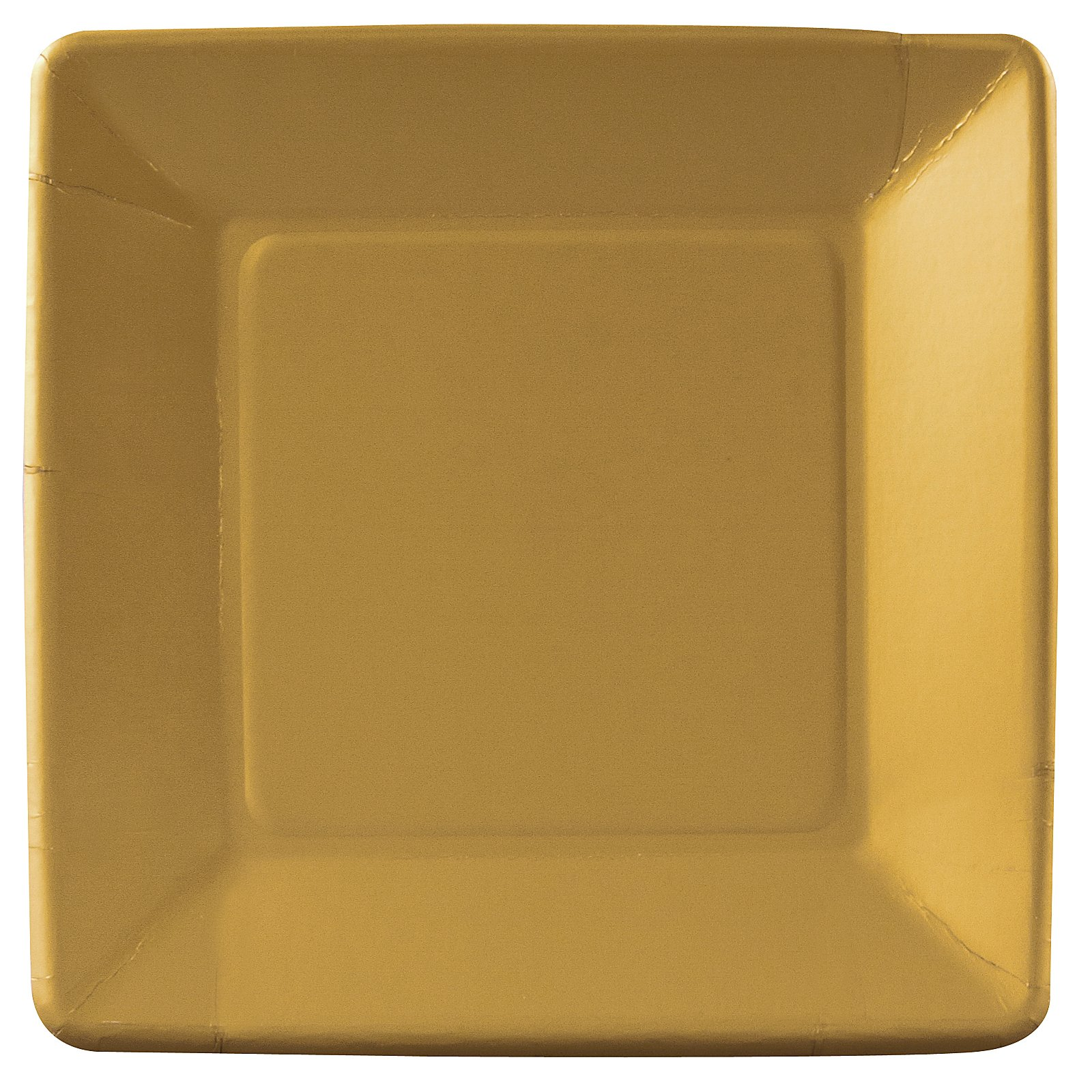 Glittering Gold (Gold) Dinner Plates (18 count)